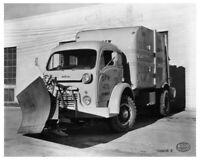 1949 White 3000 Series Truck Press Photo 0206 - Milwaukee Dept of Public Works