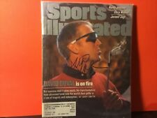 DAVID DUVAL SIGNED 1999 SPORTS ILLUSTRATED/ GOLFER