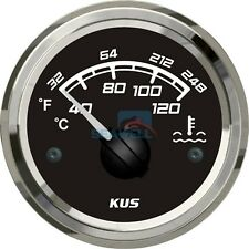 "Osculati Guardian Oil Temperature Gauge 52mm 2/"" 40-150C Black 12V"