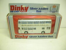 DINKY #297 SILVER JUBILEE BUS   - MINT - MAKE OFFERS!!!!