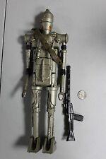 "RARE 15"" STAR WARS IG-88 BOUNTY HUNTER FIGURE 1980 Gun Belt Droid 12"" HTF VTG"