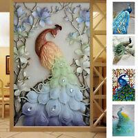 5D Diamond Embroidery Peacock Painting Art Cross Stitch Craft Kit DIY Home Decor