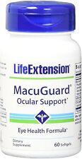 MacuGuard Ocular Support, Life Extension, 60 softgels