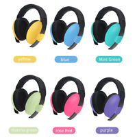 BABY Childs Ear Defenders Earmuffs Protection 6 COLOURS 3months+ Boys Girl YS