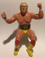 WWF LJN Hulk Hogan #1 Near Great Condition WRESTLING FIGURE WCW WWE Hulkamania
