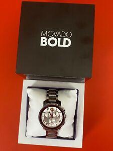 Movado Bold Watch Chronograph 3600205 | Retails $695!!
