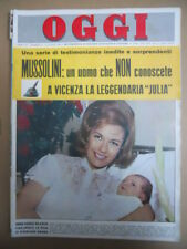OGGI n°24 1964 Mina Mazzini Sandro Mazzola - Il Vero Mussolini  [C55A]