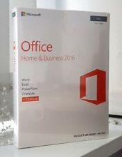 Microsoft Office 2016 for MAC in Box - 1 MAC | WITH SEALED BOX