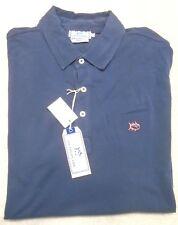 Southern Tide 100% Cotton Beachside Skipjack Polo Shirt NWT XL $85 Navy Blue