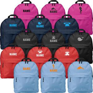 Kinderrucksack Rucksack mit Name / Motiv bedruckt Namen Tiermotiv Kinder Tasche