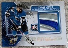 10/11 ITG H&P Tomas Jurco Silver Game-Used Jersey Emblem Card Spring Expo 1/1