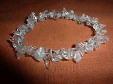 BRACELET QUARTZ cristal de roche  6-10mm Litho-Reiki