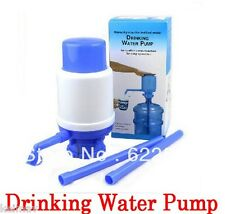 5 Gallon Manual Drinking Hand Press Pump Water Beverage Dispenser Jug