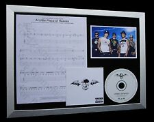 AVENGED SEVENFOLD Little Piece Of Heaven CD MUSIC FRAMED DISPLAY+FAST WORLD SHIP