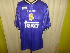"Real madrid kelme saliente Champions League camiseta 1997/98 ""Teka"" talla XL Top"
