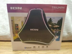 ION Triumph Boombox Speaker With LED Illumination