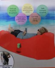 Chill Chair Sofa Air Bed Inflatable No Pump Indoor Outdoor