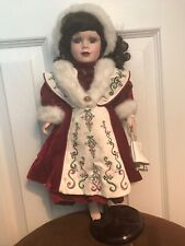 New listing Porcelain Doll Ice Skate Melissa Jane Victorian Collection 1998 Ltd Ed (A2)