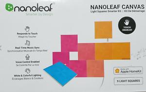 Nanoleaf Canvas Smarter Kit NL29-0003SW-9PK!