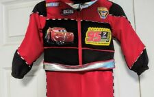 DISNEY kids halloween Cars light up costume unisex lightning McQueen NWT size 8