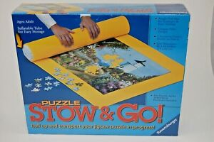 NEW Ravensburger Puzzle Stow and Go Storage Roll Up Mat 46x26 Up to 1500 Pcs