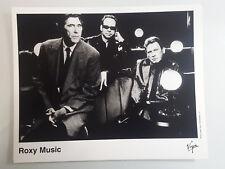 Roxy Music Press Photo by Virgin Records, 2001, Bryan Ferry Free Shipping!