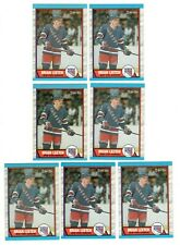 1989-90 O-Pee-Chee OPC Brian Leetch RC # 136 lot of 7