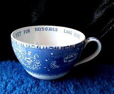 Vintage Spode faience Camilla bleu grande tasse de gentillesse MADE ENGLAND