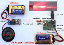 12V Laser Infrared Wireless Audio Transmission Kit Transceiver DIY Learning Kits