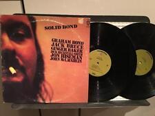 GRAHAM BOND~SOLID BOND~ORIG 1970 GREEN LBL 2LP~CREAM~MCLAUGHLIN~PSYCH BLUES ROCK