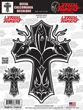 Lethal Threat Sticker Decal Anywhere Motorbike Helmet Boards Tablet IPad LT88515