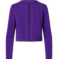 $1,290 Ralph Lauren Purple Label Collection Womens Wool Cardigan Blazer Jacket