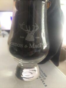 4 New Glencairn Style Tasting glasses. Glenlivet Aberlour Bowmore GordonMacPhail