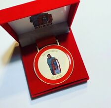More details for liverpool klopp champions medal 2019-2020 with youll never walk alone engraving