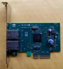Supermicro AOC-SGP-I2 2-Port Gigabit Ethernet Adapter