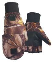 Northstar Unisex Waterproof Thinsulate Camo Flip Top Convertible Gloves. 500CA