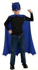 Child Batman Costume Cape and Mask Simple Halloween Outfit