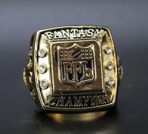 2016 Fantasy Football Championship Ring FFL Champions 11 size with bag