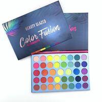 Beauty Glazed 39 Colors Eyeshadow Matte Palette Waterproof Makeup Eye Cosme R4K4