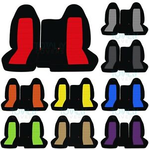 2004-2012 Chevy Colorado/GMC Canyon 60/40 2-Tone Truck Seat Covers No Armrest