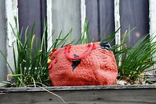 Hen Couture Rubber Chicken Purse - Rhode Island Red Hen Bag Handbag