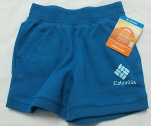 Columbia Sportswear Branded French Terry Shorts Youth 4T Enfant 98