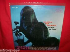 LIVING STRINGS Musica per Sognare  LP ITALY 1965 MINT- Sexy Cover