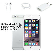 APPLE IPHONE 6 16 GB SILVER GRADO A+++ GARANZIA ORIGINALE SIGILLATO ITALIA