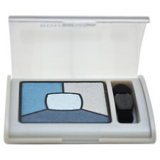 Smoky Stories Quad Eyeshadow Pallette - # 11 E-Blue-Issant by Bourjois- 0.11 oz