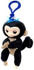 Fingerlings Black Plush Hugger Clip On Plush