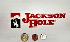 JACKSON HOLE SKI RESORT STICKER TETON VILLAGE JACKSON HOLE  RESORT STICKERS