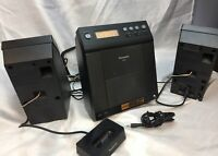 RARE PANASONIC SA-EN37 AM FM CD IPOD STEREO SYSTEM WORKS & SOUNDS GREAT