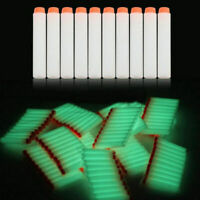 Glow 100pcs 7.2cm Refill Bullet Darts for toy Gun Elite