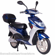 X-Treme NEW XB-504 Electric Bicycle Scooter Moped Rear Hub Power Assist Blue